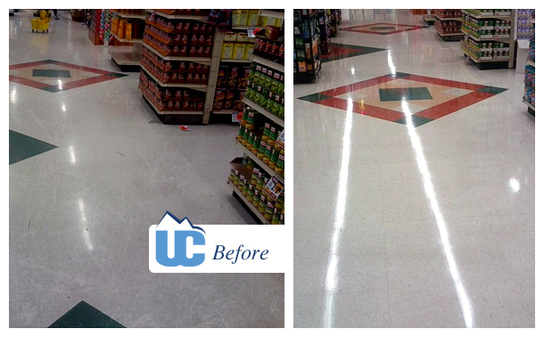 Before and After Commercial Flooring 2